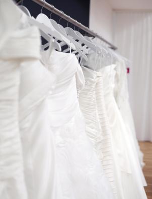 Brautkleider Reinigung, ein Service von Liana